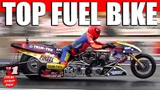 2013 Night Under Fire Larry Spiderman McBride Top Fuel Motorcycle Nostalgia Drag Racing Videos