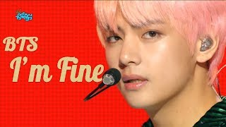 Gambar cover [HOT] BTS -  I'm Fine , 방탄소년단 - I'm Fine Show Music core 20180908