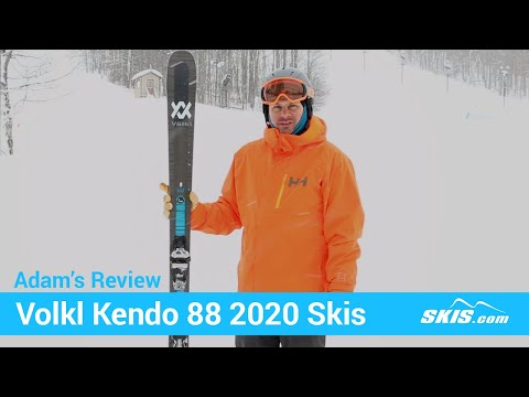 Video: Volkl Kendo 88 Skis 2020 1 40