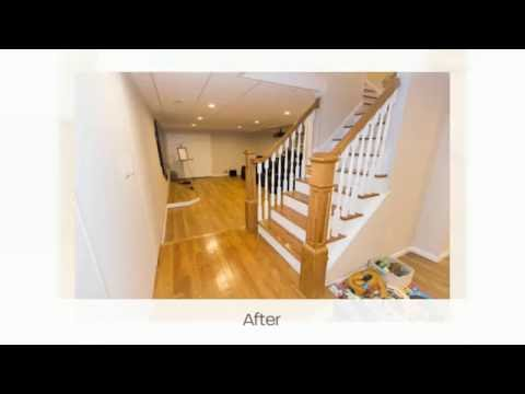 This Danbury, CT family wanted to transform their existing basement -- until then a large and unused area -- into a multi purpose room for the family.