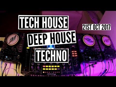 Tech House Deep House Techno Mix – 21st Oct 2017