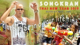 SONGKRAN - Place to be in your life time THAILAND,  PATTAYA - 2019