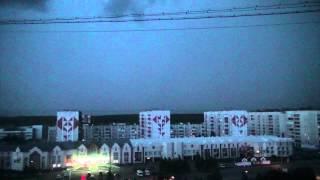 Фантастическая ночная гроза. г. Ухта. 3 июля 2014г.