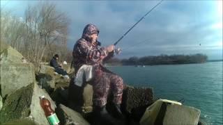 Рыбалка на солнечнодольском водохранилище
