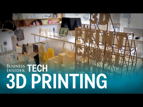 Huis bouwen? Printen met een gigantische 3D-printer!