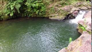 Cachoeira do Poço Azul em Peruíbe