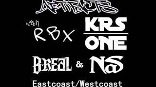 Artifacts Vs. RBX, Krs - One, B - Real & Nas - Eastcoast/Westcoast (Eye Scream Bootleg)