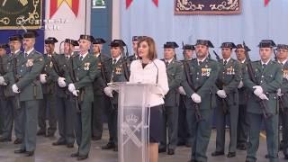 La secretaria de Estado de Seguridad presidió los actos de la Patrona de la Guardia Civil en Sevilla