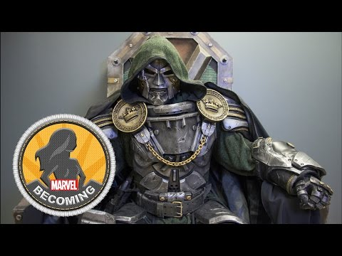 Cosplayer Hex Mortis becomes Doctor Doom –
