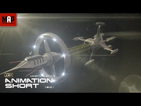 """Sci-Fi VFX 3D Animated Short Film """"GALAXY OF GHOSTS: INTRODUCTION"""" Space Thriller by Serge Patlai"""