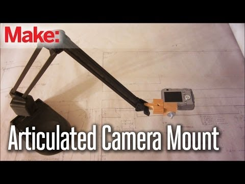 Mod A Desk Lamp Into An Articulated Camera Stand