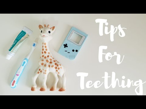 TIPS FOR TEETHING BABY