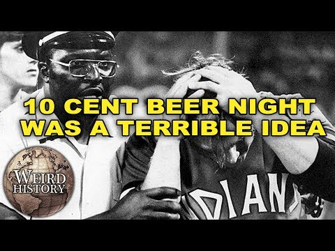 Ten Cent Beer Night Was a Total Disaster.