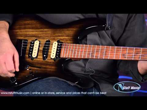 Suhr Modern Custom Electric Guitar – Black Burst | N Stuff Music Product Review