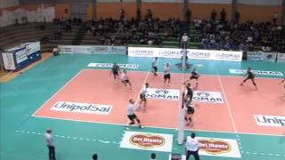 preview picture of video 'Volley A2 Maschile: Domar  Matera batte Corigliano 3-0'