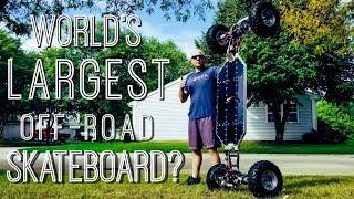 Worlds largest off road skateboard