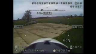 Stock AXN floater jet 153 kmh via fpv with Feiyutech hornet osd gps current sensor