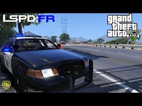 GTA SanAndreas LSPD Ford CrownVic - смотреть онлайн на Hah Life