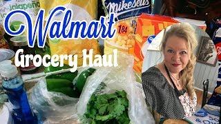 Walmart Grocery Haul!