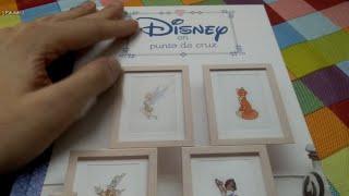 Review - Libro Disney En Punto De Cruz | Disney Cross Stitch Book