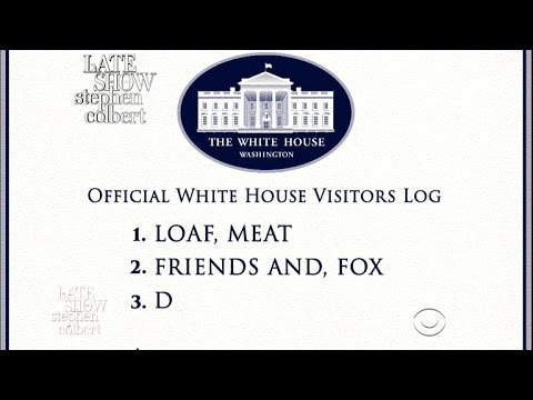 The White House Visitor Log, Exposed!