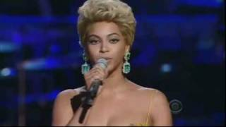 Beyonce Singing The Etta James Classic 'at Last'
