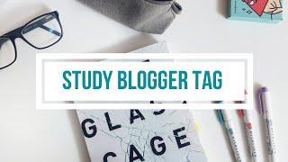 ВОПРОСЫ STUDY-БЛОГЕРУ | STUDY BLOGGER TAG