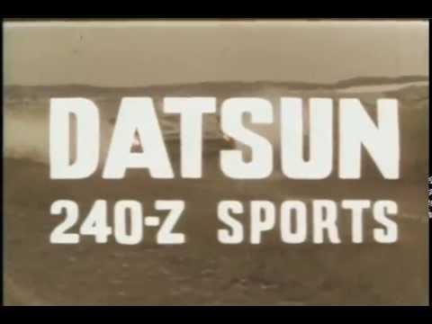 Datsun 240-Z Intro 1969