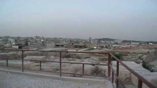preview picture of video 'Adhan - Islamic call to prayer in Amman Jordan - beautifull mystic voice and panorama'