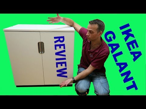 Ikea office GALANT Cabinet  Review