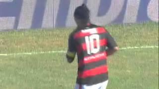 Ronaldinho Gaúcho Tribute First Goal and Plaque Flamengo - Homenagem