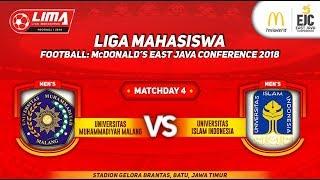 UMM VS UNIV. ISLAM INDONESIA, LIMA FOOTBALL: McDonald's East Java Conference, 13 September 2018