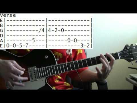 guitar lessons online Devo whip it tab