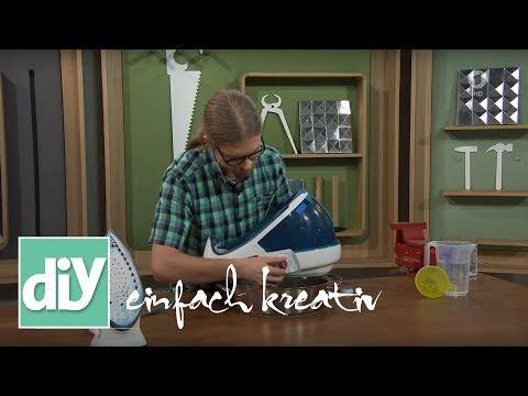 Dampfbügelstationen entkalken | DIY einfach kreativ