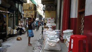 preview picture of video 'Walking in Kolkata ( Calcutta)'