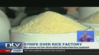 Rice farmers are left to lose as strife over the location a rice