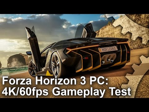Gameplay de Forza Horizon 3