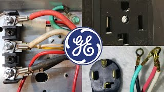 How to Install 4 Prong Plug on a GE or Hotpoint Dryer Cord Step by Step Guide to Wiring