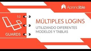 Cómo crear logins con diferentes modelos en Laravel 5.2 utilizando GUARDS