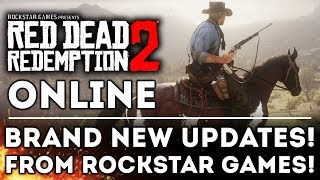 Red Dead Redemption 2 ONLINE BETA - NEW UPDATES from Rockstar Games! Release Date Window!