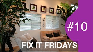 Living Room Makeover UNDER $500 | Interior Design | Fix It Fridays #10