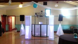 Dj service and solutions setup