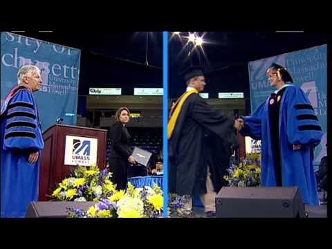College of Sciences Masters Degrees - UMass Lowell 2013 Graduate Commencement Ceremonies (2:39)