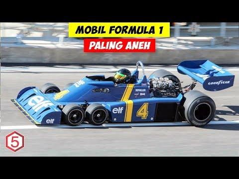 Mobil Formula 1 Dengan Bentuk dan Konsep Paling Aneh