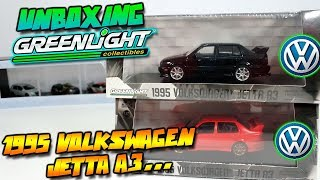 UNBOXING - 1995 VOLKSWAGEN JETTA A3 GREENLIGHT