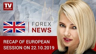 22.10.2019: Why is US dollar getting weaker? What about pound? (USD, EUR, GBP, CHF, GOLD)