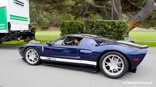 Hp Twin Turbo Hennessey Ford Gt Engine Sound Driving On The Road