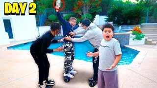 LAST TO FALL OFF HOVERBOARD WINS $10,000 - CHALLENGE!