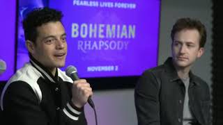 Were Live With the Cast of Bohemian Rhapsody