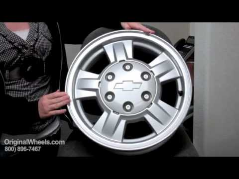 Tracker Rims & Tracker Wheels - Video of Chevrolet Factory, Original, OEM, stock new & used rim Shop
